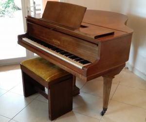 Vends Piano Pleyel Crapaud 1970 touches ivoires