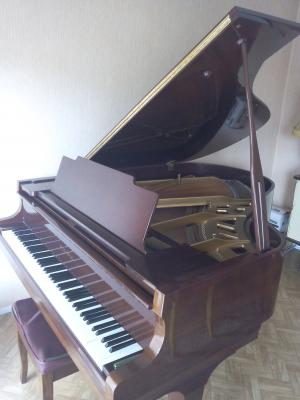 A VENDRE PIANO 1\/4 queue BORDEAUX